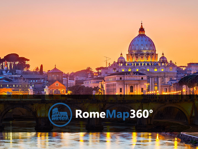 Rome Map 360°